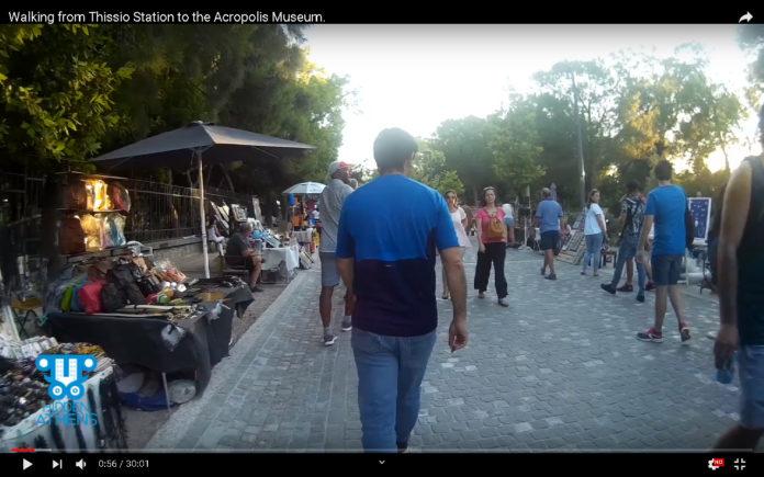 Thissio-Acropolis Videowalk