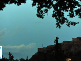 Acropolis Full Moon